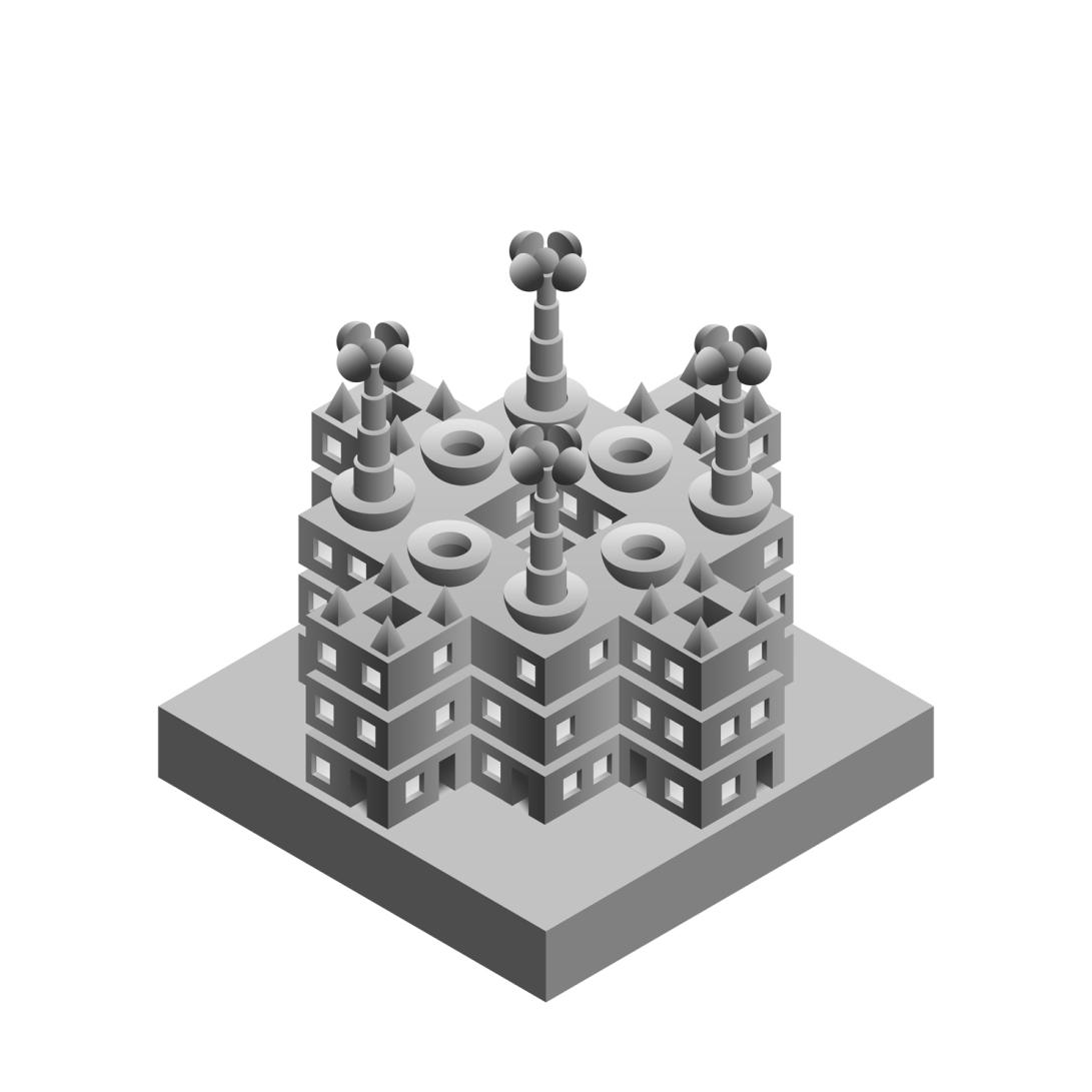 diorama template