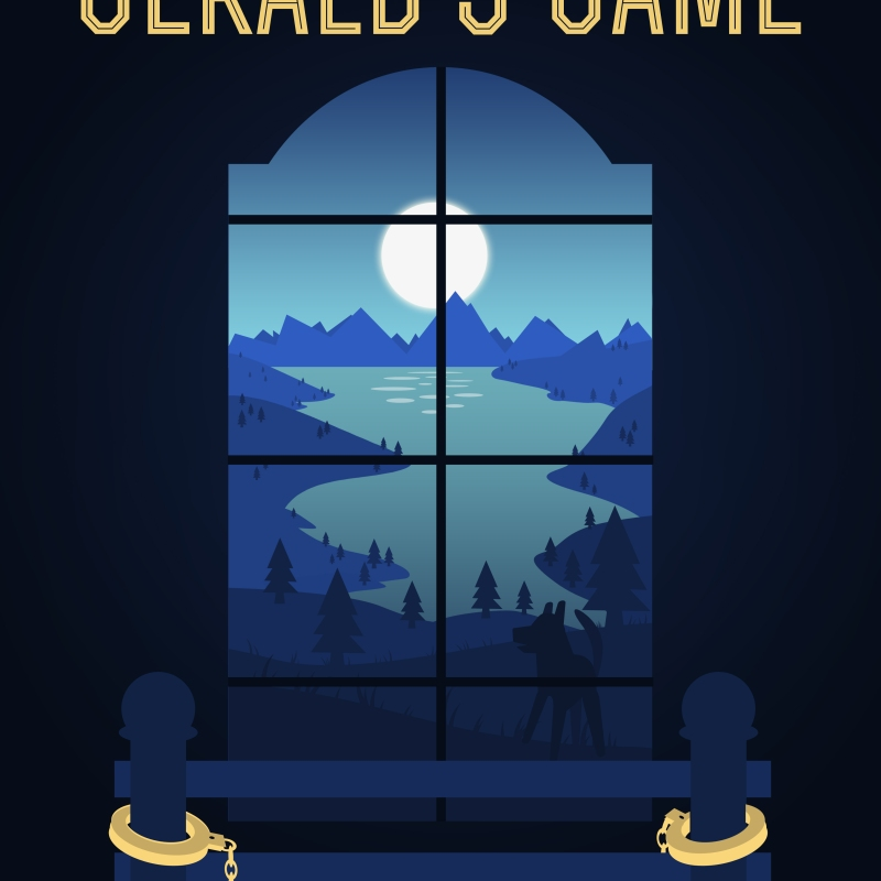 gerald's game stephenk king book cover vector art illustration graphics design isometric digital minimal denis bettio