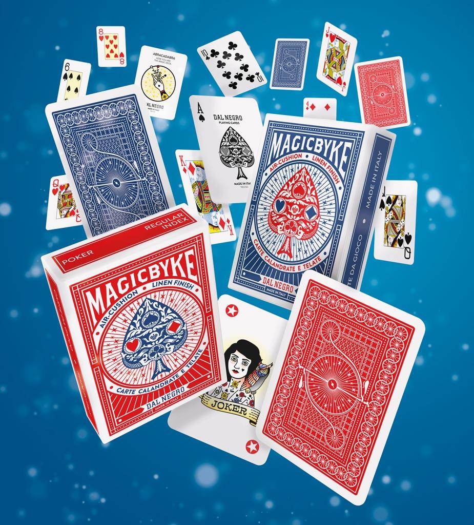 magic byke cardistry playing cards custom design dal negro