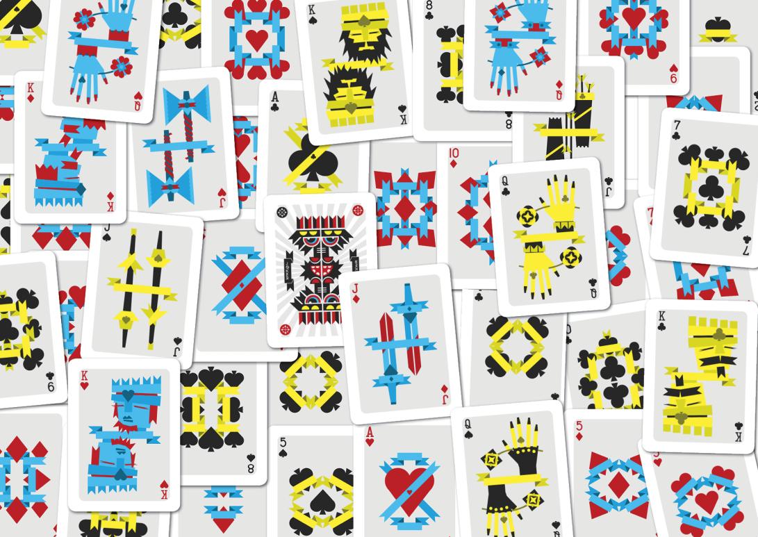 cards playing cards carte da gioco poker ramino illustration vector minimal graphic design