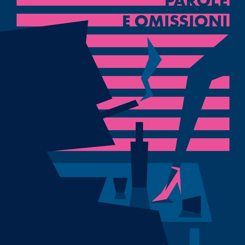 book cover pulp minimal illustration illustrazione treviso man smoking cigarette woman leg cocktail table charles bukowski